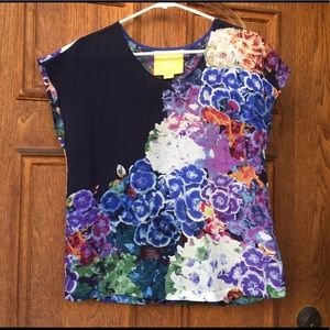 Beautiful Silk top by Maeve - size 0, fits XS/S